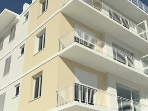 La facciata condominiale
